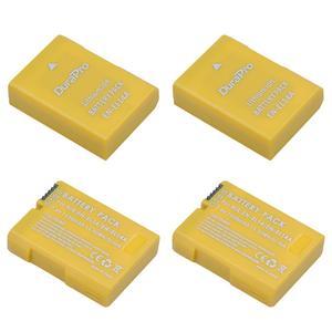 4 x 1350mAH EN-EL14a EN-EL14 EL14 Camrea Battery Replacement for Nikon D5600,D5500,D5300,D5200,D5100,D3200,D3300,P7800,P7700
