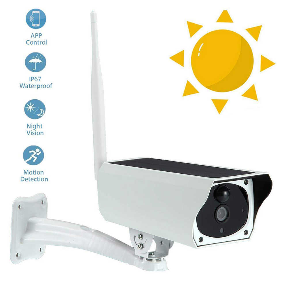 1080P Solar/USB/battery Surveillance IP Camera  Wifi Outdoor Wireless Security Camera Audio Support 8-64G SIM Card Class 10 card