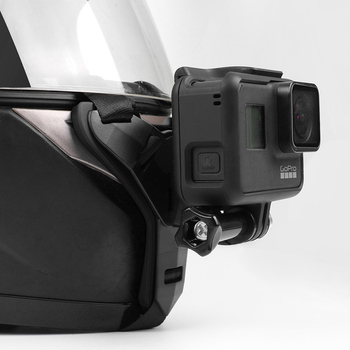 Full Face Helmet Chin Mount Holder for GoPro Hero 8 7 5 SJCAM Motorcycle Helmet Chin Stand Camera Accessories for Go Pro Hero 9