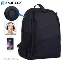 Puluz câmera ao ar livre mochila sacos portáteis à prova ddual água dupla ombros mochila câmera 44*30*19.5cm ombros mochila câmera