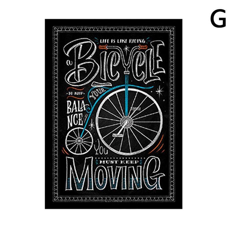 Вдохновляющий постер на английском языке, картина, мотивационный плакат, школьная офисная классная комната, для стен, картины для школьников, школьниц - Цвет: G