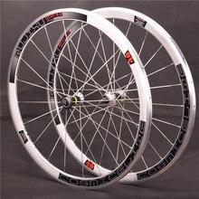 Droga rowerowa 700c 20/24H koła kolarskie ze stopu aluminium 40mm pukanie jednobiegowa rowerowa fixie koła z włókna węglowego tube hub