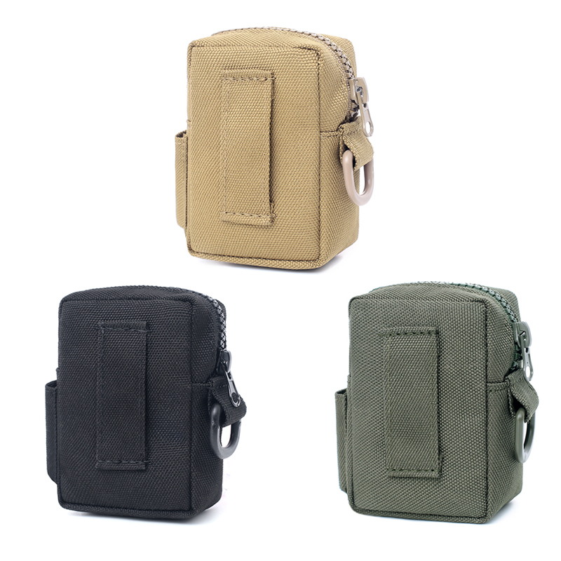 Tactical Radio Pouch Walkie Holster Talkie Holder Waist Belt Bag Military Molle Nylon Pouch Magazine Mag Pouch Pocket New