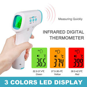 Fever-Thermometer Ir-Laser-Point-Gun Infrared for Baby Adult Forehead Digital Non-Contact