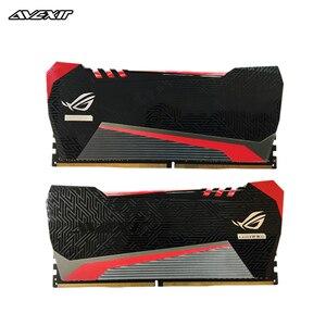 Avexir rojo Tesla ddr4 ram 8GB 16GB 2666MHz 3000MHz 3200MHz 3600MHz para juegos de escritorio dimm con alto rendimiento de