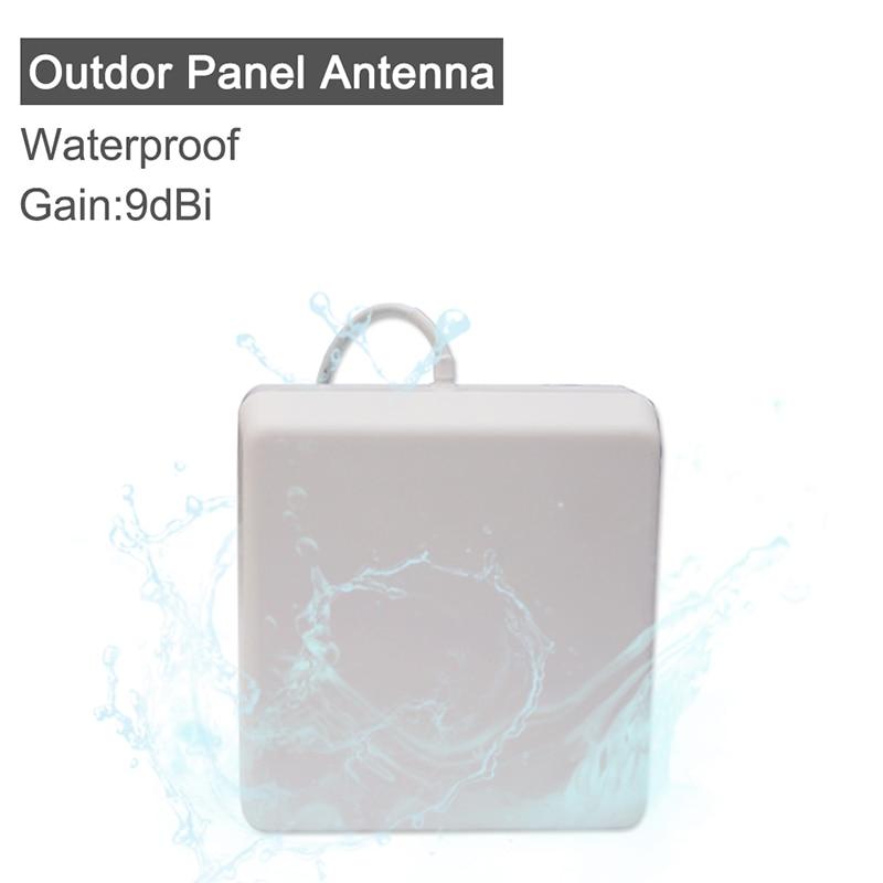 9 DBI Gain Outdoor Panel Antenna For CDMA850 GSM900 PCS1900 UMTS2100 2300MHz 2500mhz 2600mhz Signal Booster Waterproof Antenna @