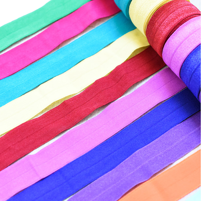 31 Colors 5 M  (20mm) Elastic Band Multirole Spandex Ribbon Sewing Lace Trim Waist Band Garment Accessory