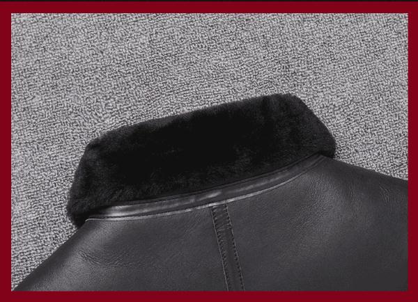 H3026c9607da549e79027c1fca55e184eK Free shipping,Sales Winter Sheep fur coat,100% wool Shearling jacket,warm leather sheepskin coat.plus size classic motor style