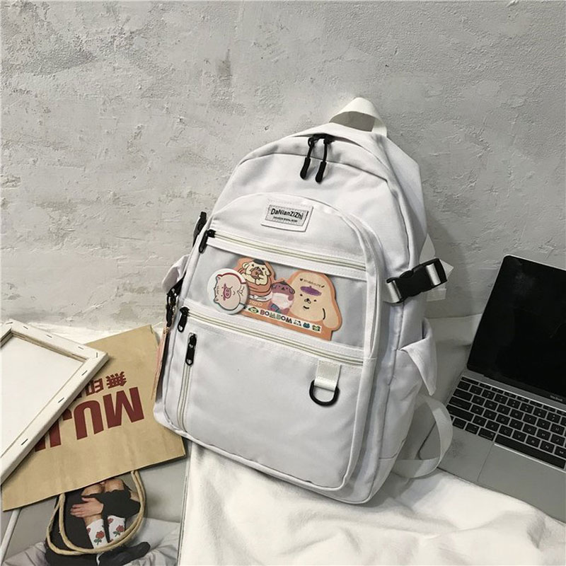 Travel Backpack College Wind Backpack Fashion Wild Multifunctional School Bag Campus Oxford Cloth Travel Bag