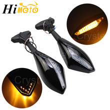 Rearview-Side-Mirrors Led-Turn-Signals Motorcycle Honda CBR600RR for F4/f4i 929/954