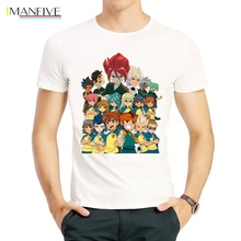 Inazuma Eleven T Shirt Fashion Short Sleeve White Color Logo Tees Top tshirt Unisex 11 T-shirt