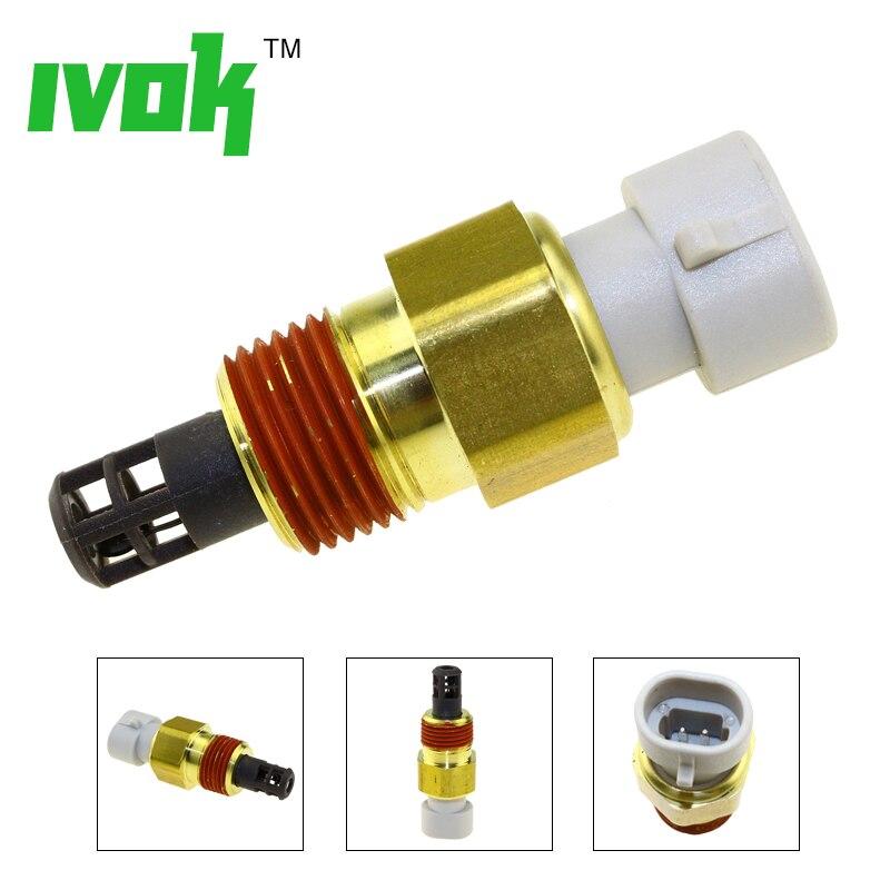 Hohe Qualität 100% Test Vielfältigen Aufnahme Air Ladung Temp Temperatur Sensor Sender Für IAT MATTE HANDELN 25037225 25036751 25037334