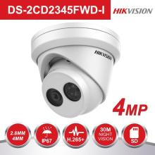цены HIKVISION H.265 PoE IP Camera DS-2CD2335FWD-I 3MP Ultra-Low light Network Turret CCTV Camera IR IP Camera with Night Version