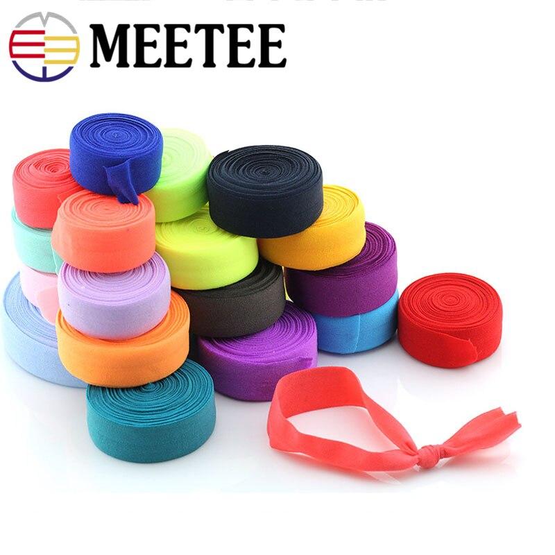 10/20meter Meetee Elastische Bands Band Bindung Gurtband Band Gummi Gürtel für DIY Nähen Unterwäsche Taschen Kleidung Zubehör