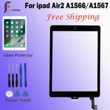 A1566 A1567 Touch Screen Digitizer Glass lens Sensor 9.7 inch For Ipad air2 air 2 touch screen glass digitizer front Glas