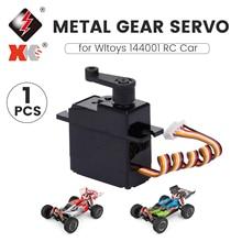 RC Car Servo RC Spare Parts Metal Gear Servo for Wltoys XK 144001 RC Raing Car
