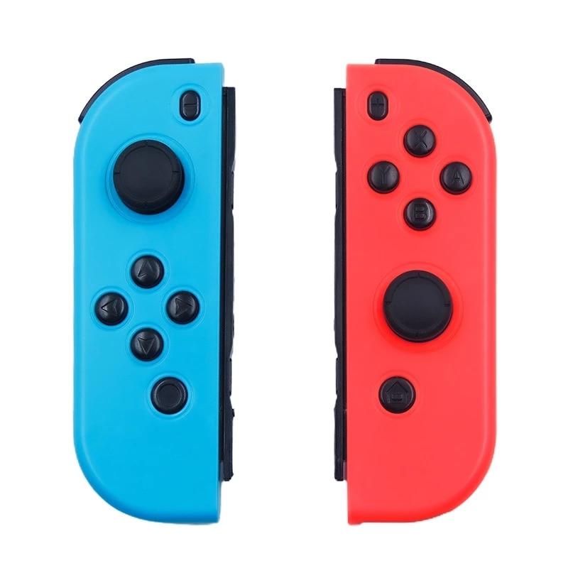 Новинка 2021, беспроводной контроллер Bluetooth для Nintendo Switch joy, джойстик для левой и правой консоли, красный и синий, функция Bluetooth