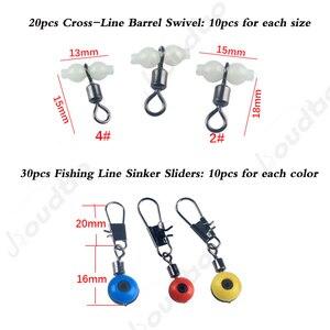 Image 2 - 177Pcs Vissen Accessoires Kit Set Met Visgerei Doos Inclusief Vissen Sinker Gewichten Vissen Wartels Snaps Jig Haak Pesca
