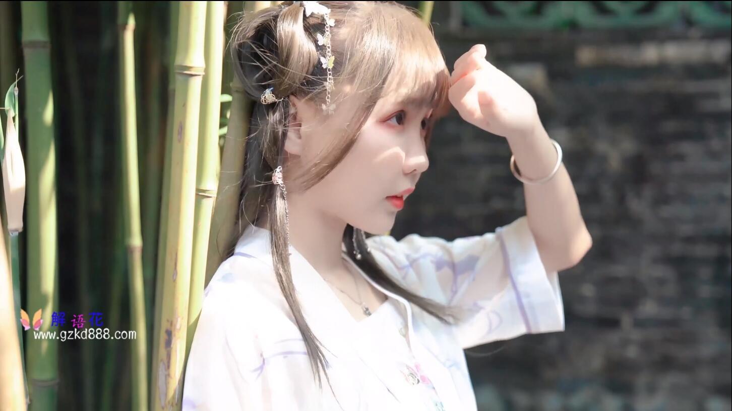 美少女up主@いとう哀 仙女裙 自唱自跳古风舞《花开一片》_图片 No.4