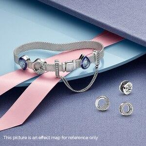 Image 4 - S925 silber farbe armband set DIY Armband mit charme s925 Fit luxus original charme Frauen Armband Schmuck geschenke für frauen