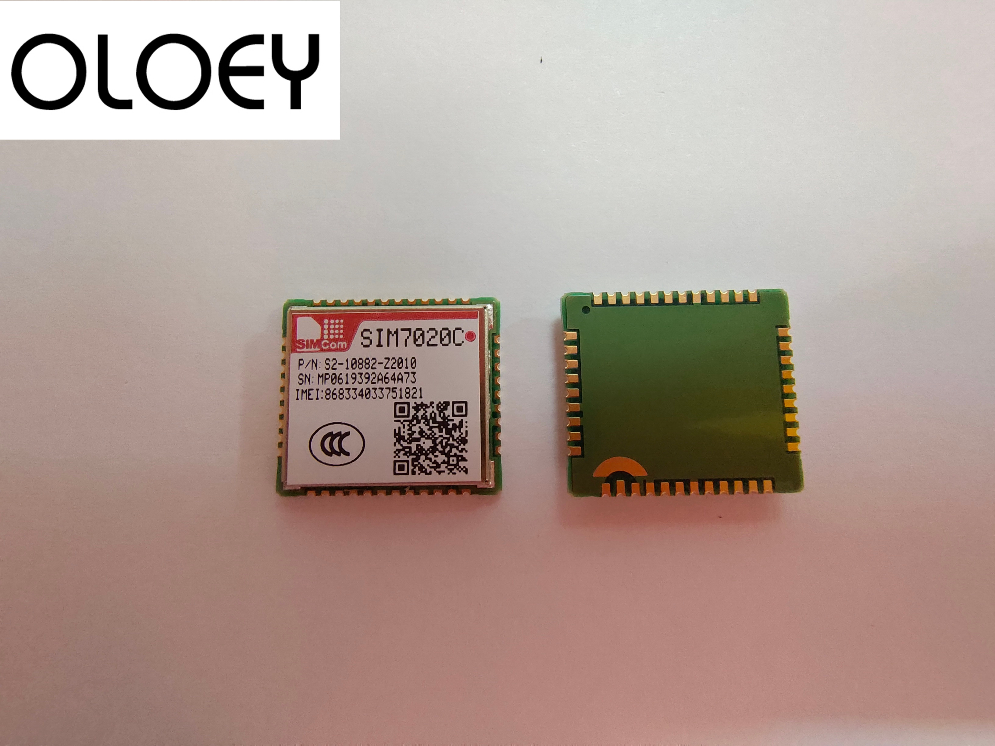 SIMCOM SIM7020C New&Original Multi-Band B1/B3/B5/B8 LTE NB-IoT SMT Type M2M Module Compatible With SIM800C