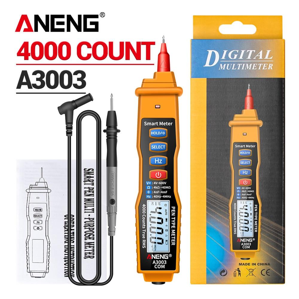 ANENG A3003 индикатор напряжения мультиметр ручка измеритель напряжения тестер напряжения автомобильный мультимитр цифровой ручки для электри...