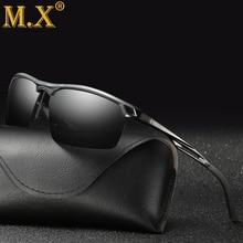 Мужские поляризованные солнцезащитные очки для ночного вождения, мужские брендовые дизайнерские желтые линзы, очки для ночного видения, очки для вождения, очки для уменьшения бликов