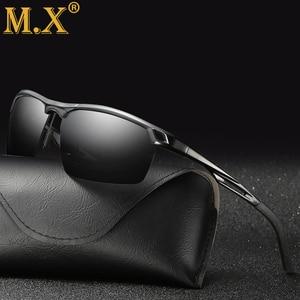 Image 1 - 2019 رجل الاستقطاب ليلة القيادة النظارات الشمسية الرجال العلامة التجارية مصمم عدسات صفراء اللون للرؤية الليلية نظارات للقيادة نظارات تقليل وهج