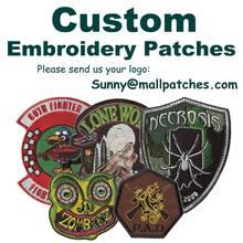 Benutzerdefinierte Tier Patches Stickerei patches Für Bekleidungs Eisen auf Sichern Patch