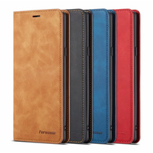10piece/lot For Samsung Galaxy Note 9 Case Magnetic Phone Cover Wallet Flip Leather Stand