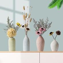 Decorazione Della casa di Ceramica Glassato Piccolo Vaso Decorazione Modello Creativo Camera Salotto Tavolo Da Pranzo Fiore
