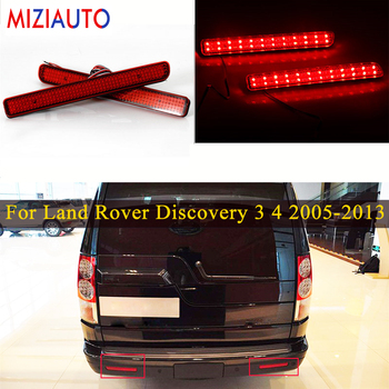 1 Pair LED Rear Bumper Reflector Light For Land Rover Discovery 3 4 2005- 2013 For Range Rover Sport 2010-2013 Tail Brake lamp камера заднего вида для land rover intro vdc 18 land rover discovery 2004 2013 land rover freelander 2006 2013 land rover range rover 2005 2013