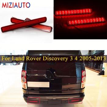 цена на Rear Bumper Reflector Light For Land Rover Discovery 3 4 2005 2006 2007 2008-2013 For Range Rover Sport 2010-2013 LED Tail Brak