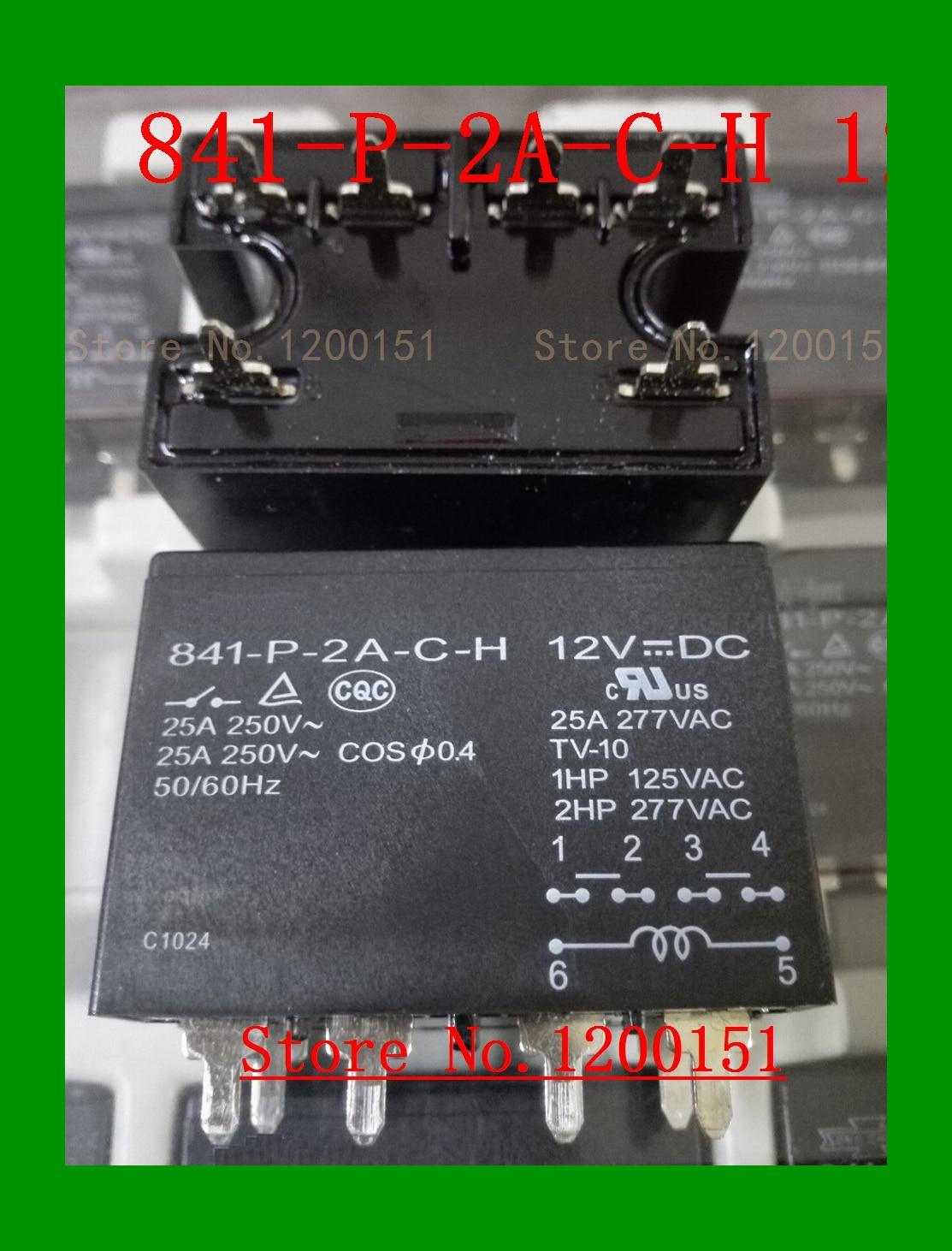 841-P-2A-C-H 12VDC 841-P-2A-F-C-H 12VDC 841-P-2A-B-C-H 24VDC JQX-116F-1 Relay DIP-6