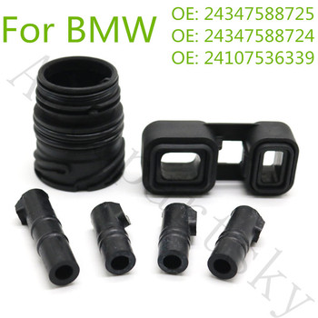 Valve Body VB Sleeves Connector Adapter Seal kit ( 6pcs = 1set ) for BMW 6HP19 6HP21 OEM 24347588725 24347588724 24107536339