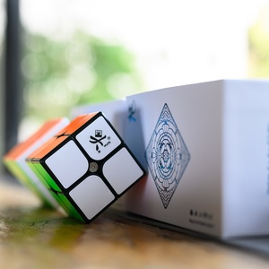 Image 4 - Dayan TengYun 2x2 M 2x2x2 Magnetic Magic Cubing Speed 2x2 cubo magico Educational Toys Gift Game Kids