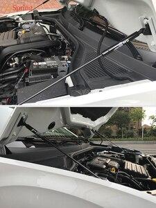 Image 3 - Para volkswagen vw T ROC 2017 2018 2019 2020 capa dianteira do carro motor capa hidráulica haste strut mola barra de choque suporte estilo do carro