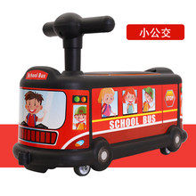 Roller-Skating-Ride Toys Baby Children's on Car Bus Twisting Universal Cartoon 1-3-Years-Old