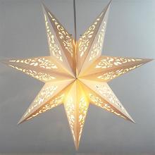45 см, светильник для вечерние со звездами, решетка для окна, Домашний Светильник для спальни, ночной Светильник для сада, подвесное украшени...