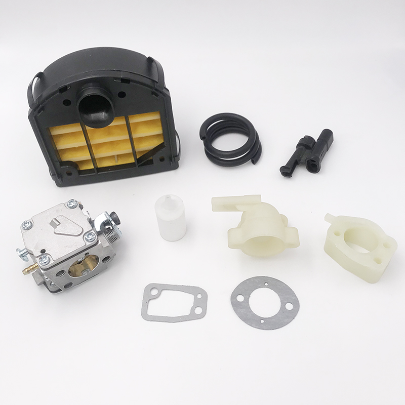 Carburetor Air Filter Bottom Rubber Ring Clip Assembly Kit For HUSQVARNA 268 272 272XP Chainsaw 503446901503 44 67-01 Parts