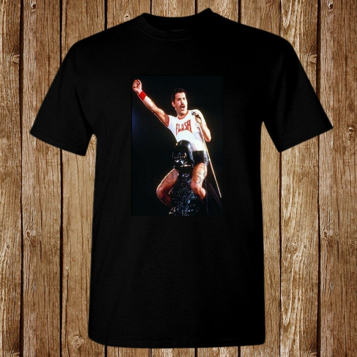Queen Freddie Mercury Flash Gordon Live Concert New T-Shirt Size S-5XL(China)