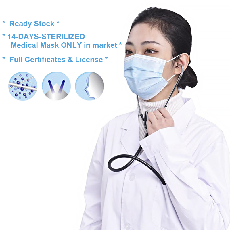 200Pcs/Lot Disposable Mask Anti-bacterial Masks 3 Layers Of Meltblown Cloth Health Care Mouth Prevent Bacteria Mask Fast Deliver