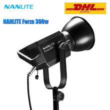 NanGuang NANLITE Forza 300w LED Photographic Lighting Fill Light Spotlight 5600K 2.4G Wireless APP WIFI Control Forza300