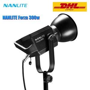 Image 1 - Nanguang Nanlite Forza 300W Led Fotografische Verlichting Vullen Licht Spotlight 5600K 2.4G Draadloze App Wifi Controle Forza300