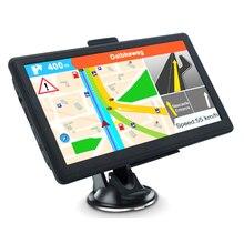 5 pulgadas Europa MP3 MP4 Navegador de pantalla LCD África FM Bluetooth fotos accesorios coche camión portátil navegador GPS Gran Bretaña