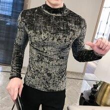 2020 T-Shirt Men Spring Autumn New Long Sleeve Hig