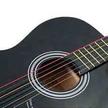 6 шт Струны для акустической гитары радужные цветные e a фольклорной