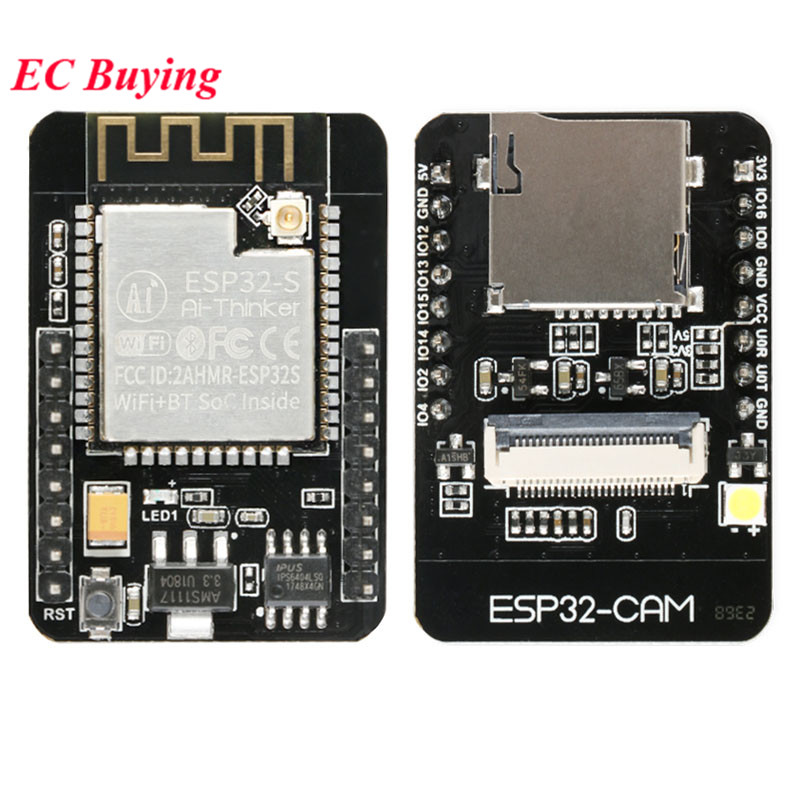 ESP32-CAM ESP32 ESP-32S WiFi Module Serial To WiFi CAM Development Board Adapter OV2640 Camera Sensor Module For Arduino