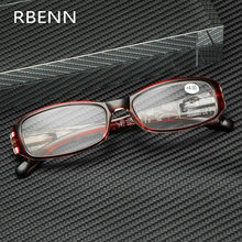 Модные очки для чтения RBENN, женские пресбиопические очки с цветочным принтом и пружинным шарниром, с диоптриями + 0,5 0,75 1,25 1,75 2,25 4,5 6