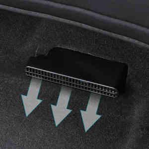 2 шт. автомобильный подседельный обогреватель, напольный воздуховод, Вентиляционная решетка, крышка кондиционера, сетка для Toyota RAV4 2019 2020
